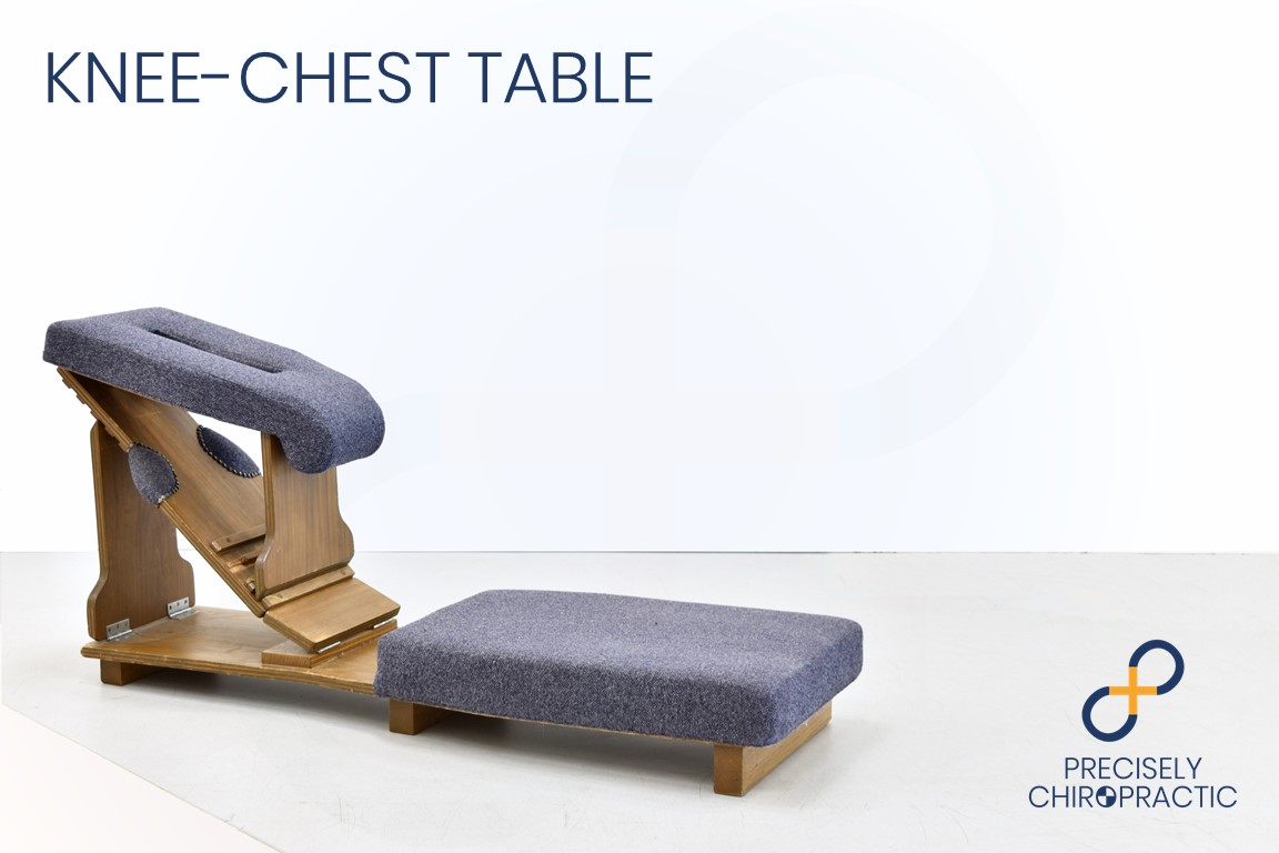 Knee Chest Table - Precisely Chiropractic North Hobart
